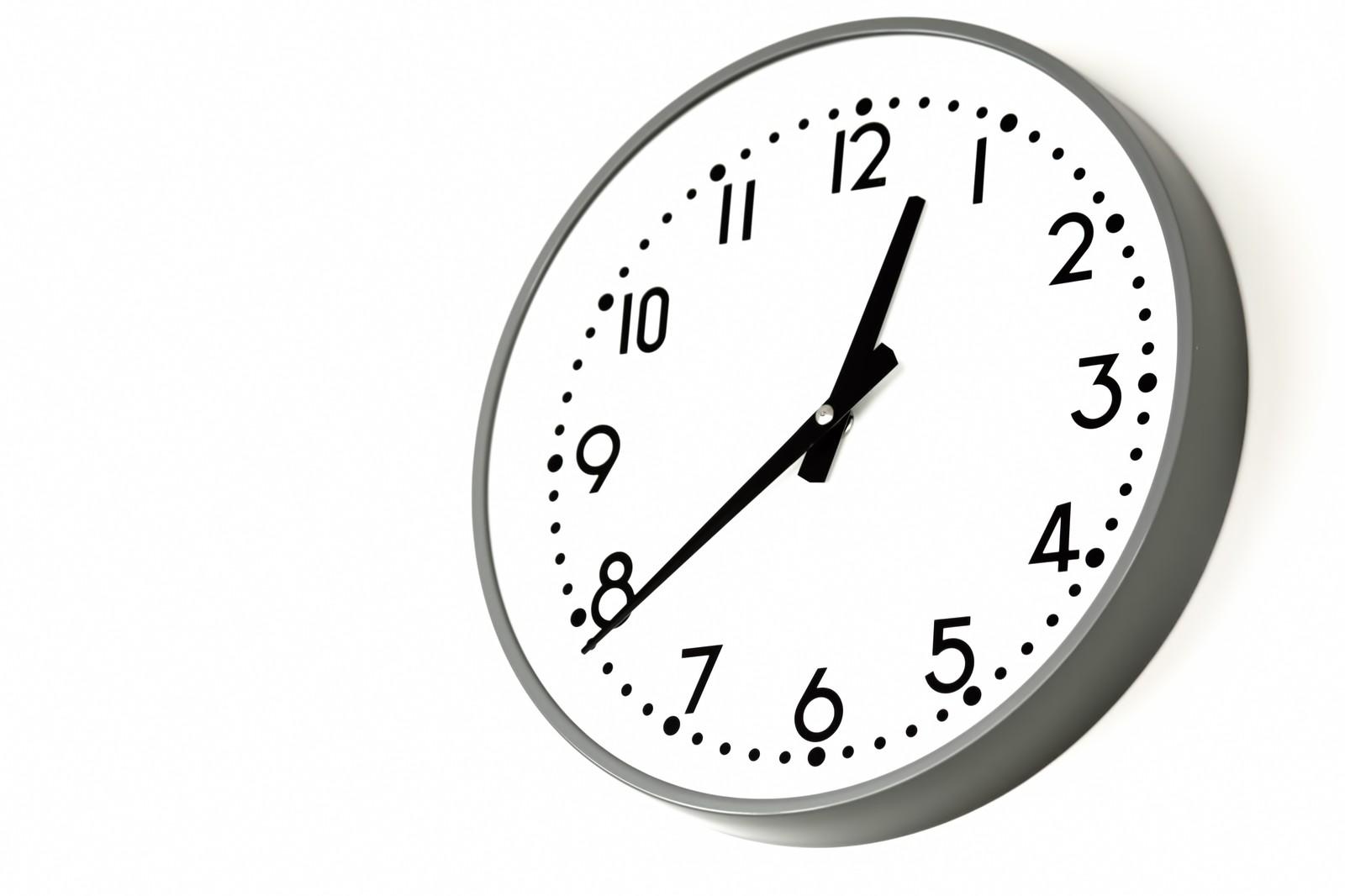 FX 取引時間 時計